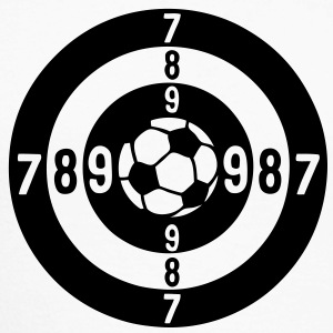 cible target ziel objetivo43 football Tee shirts manches longues - T-shirt baseball manches longues Homme