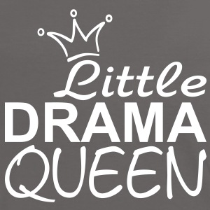 Little Drama Queen / Krone | Frauen Shirt Kontrast - Frauen Kontrast-T-Shirt