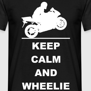 Keep calm and wheelie T-Shirts - Men's T-Shirt