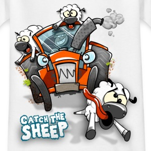Catch the Sheep - Kids - Kinder T-Shirt