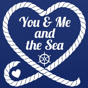 You & Me and the Sea - Stoffbeutel