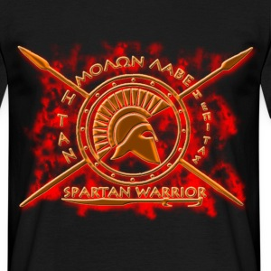 Spartan warrior - Men's T-Shirt