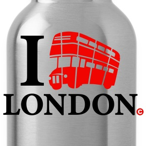 i_love_london-bus_2c Bottles & Mugs - Water Bottle