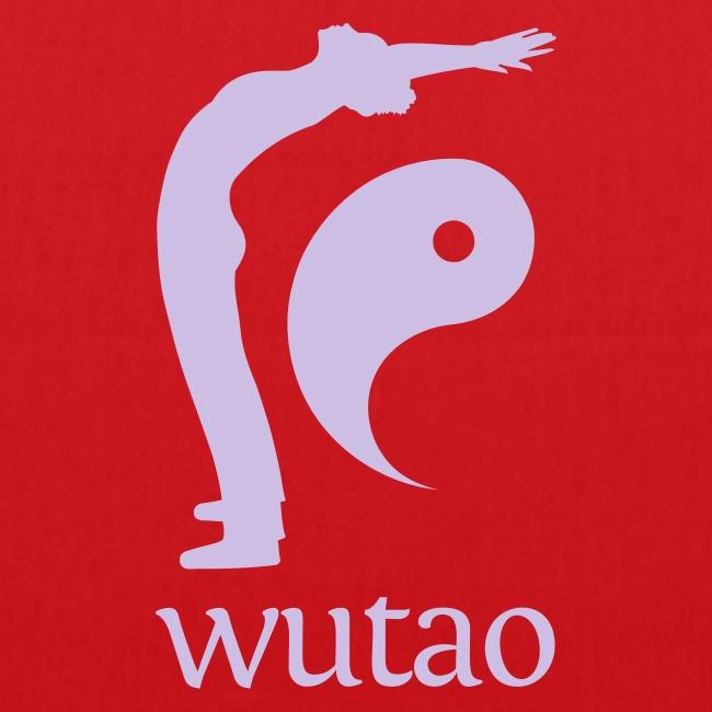 Sac en tissu rouge Wutao