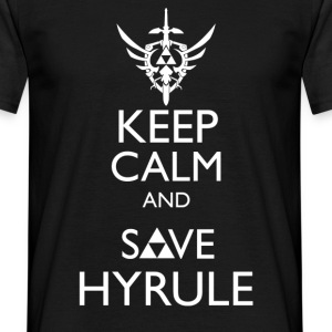 Zelda - Keep Calm & Save Hyrule T-Shirts - Men's T-Shirt