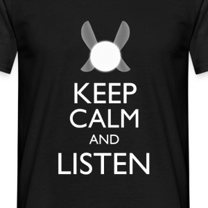 Zelda - Keep Clam & Listen T-Shirts - Men's T-Shirt