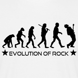evolution_of_rock T-Shirts - Männer T-Shirt