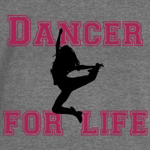 dancer for life Hoodies & Sweatshirts - Women's Boat Neck Long Sleeve Top