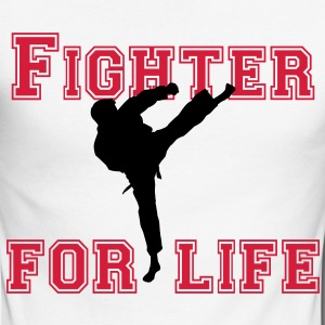 fighter for life Long sleeve shirts - Men's Long Sleeve Baseball T-Shirt