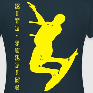 Kite Surfer - T-skjorte for kvinner