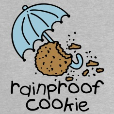 Rainproof cookie Baby T-shirts
