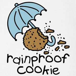 Rainproof cookie Baby Shirts  - Organic Short-sleeved Baby Bodysuit
