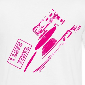 I LOVE VINYL - Men's T-Shirt