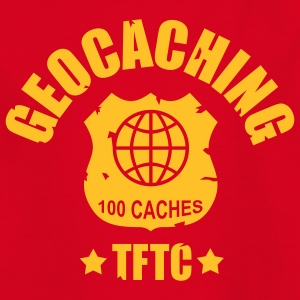 geocaching - 100 caches - TFTC / 1 color Camisetas - Camiseta adolescente