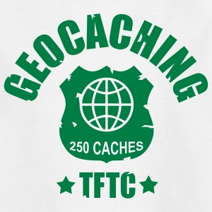 geocaching - 250 caches - TFTC / 1 color Tee shirts - T-shirt Ado