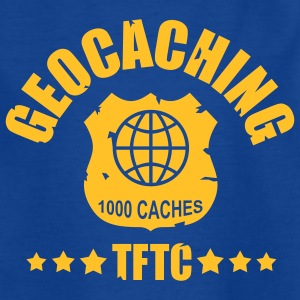 geocaching - 1000 caches - TFTC / 1 color Camisetas - Camiseta adolescente