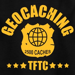 geocaching - 2500 caches - TFTC / 1 color T-shirts - T-shirt tonåring
