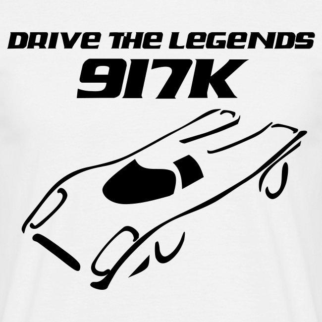 drive 917k - weiß/schwarz