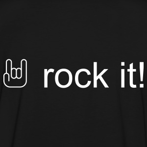 rock it! T-Shirts - Männer Kontrast-T-Shirt