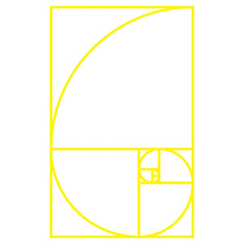 Fibonaccispirale Heilige Geometrie