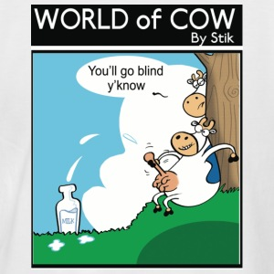 White/navy You'll go blind y'know! T-Shirts - Men's Baseball T-Shirt