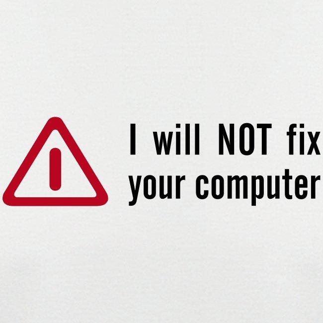 No fix