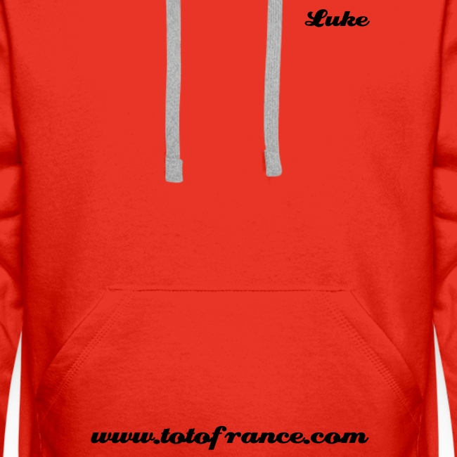 Sweat Capuche Couleur Luke Ombré