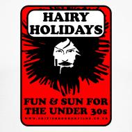 Design ~ Hairy Holidays gent's baseball jersey