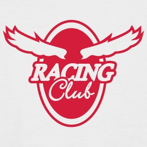 Racing Club - Männer Baseball-T-Shirt