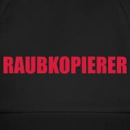 Motiv ~ Raubkopierer - Cap schwarz