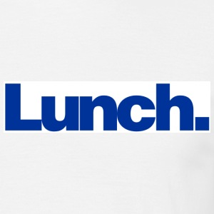 White Lunch T-Shirts - Men's T-Shirt
