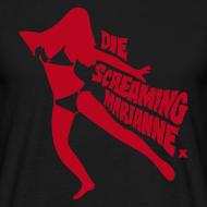 Design ~ Die Screaming Marianne black and red tee