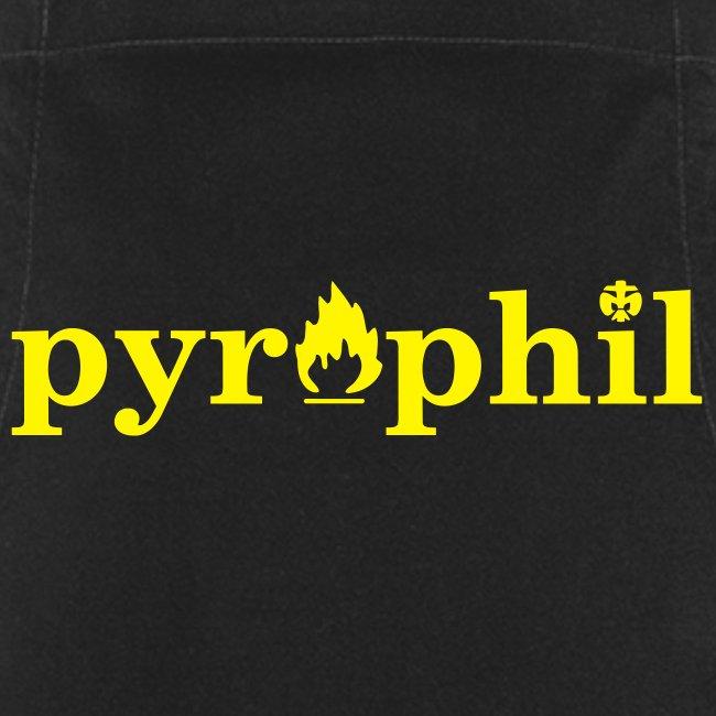 "Grillschürze ""pyrophil"""