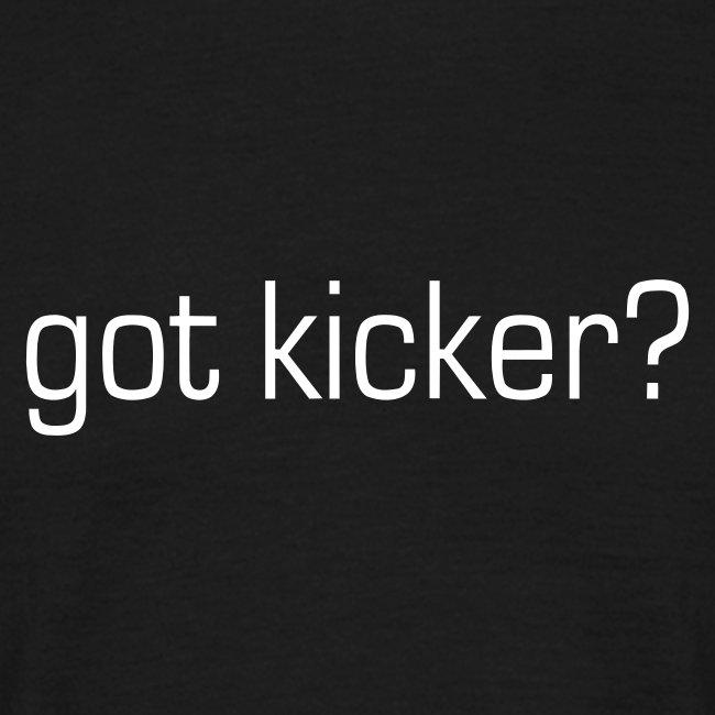 Got kicker?