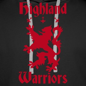 Highland Warriors Pullover & Hoodies - Männer Premium Hoodie