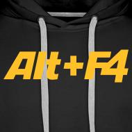 Design ~ Alt+F4 Hooded Shirt