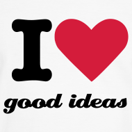 Design ~ Mens I heart good ideas
