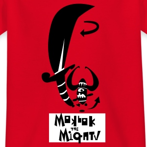 Red Moklok the Mighty Shrimp beast Kid's Shirts  - Teenage T-shirt