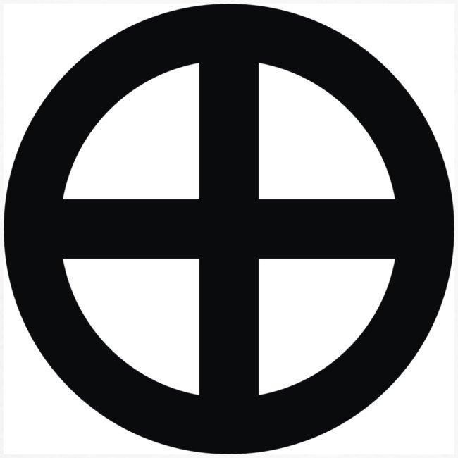 Longsleeve Krzyż słoneczny (przód)