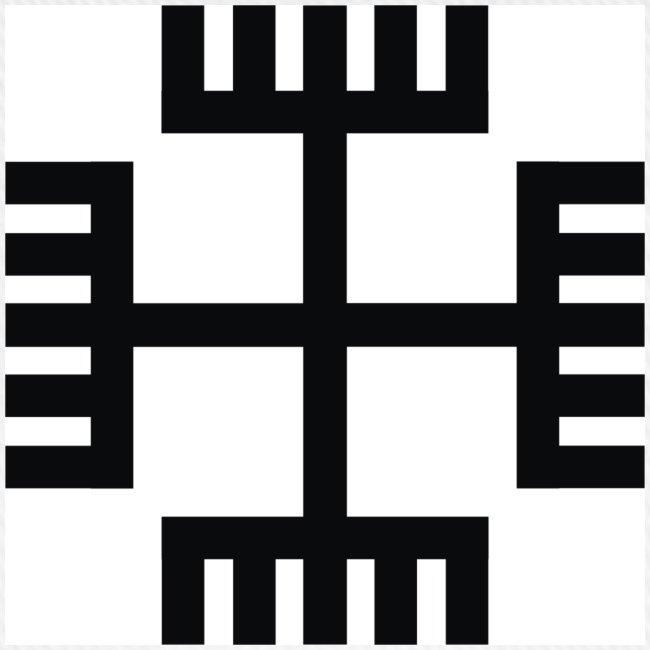 Czapka Krzyż słowiański / Ręce boga