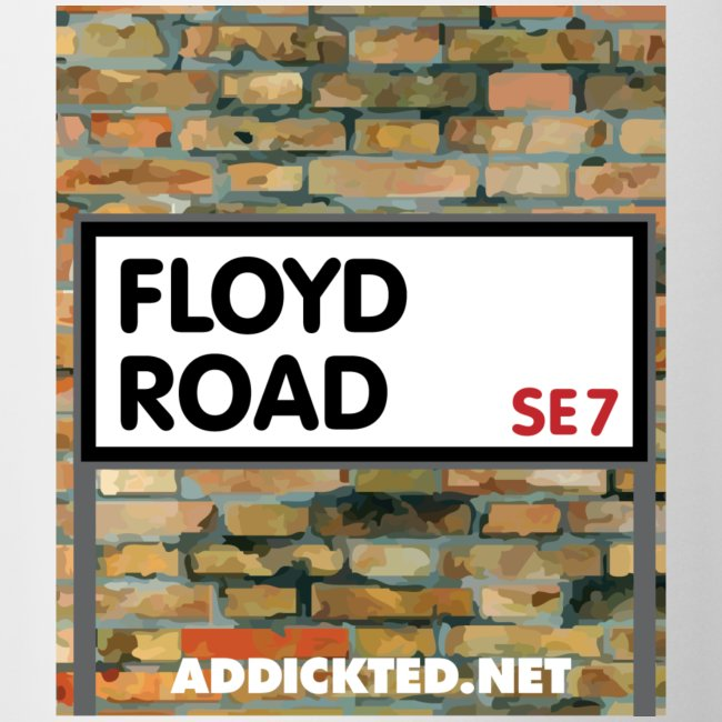 Floyd Road Sign Mug