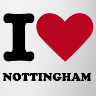Design ~ I Love Nottingham Mug