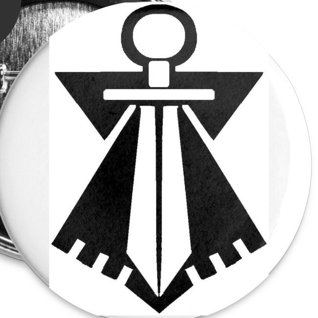 Badge FLB noir
