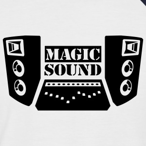 Magic Soundsystem - Männer Baseball-T-Shirt