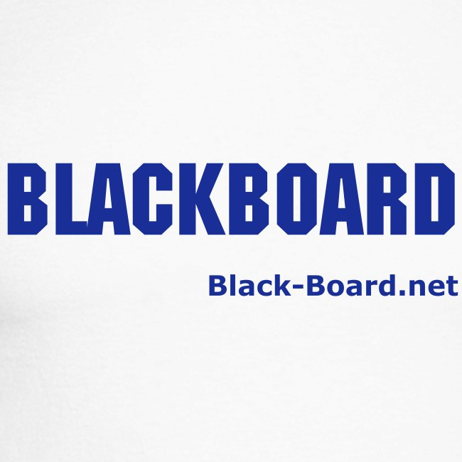 Blackboard - the virtual light