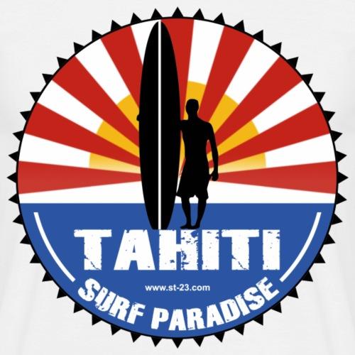 tahiti surfing paradise