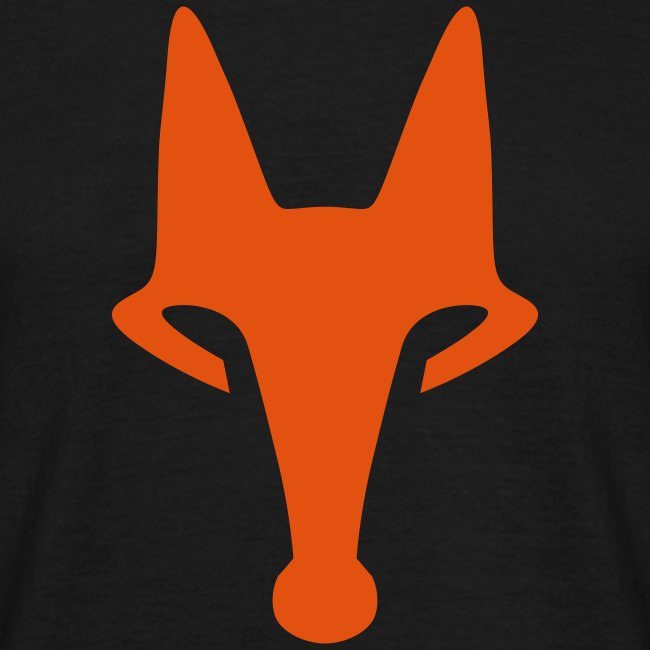 Fox on Black - T-Shirt
