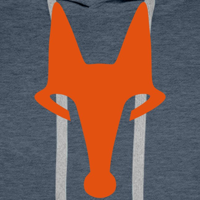 Fox on Green - Hooded Sweat