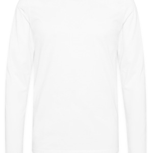 White recycled Ladies' - Men's Premium Longsleeve Shirt