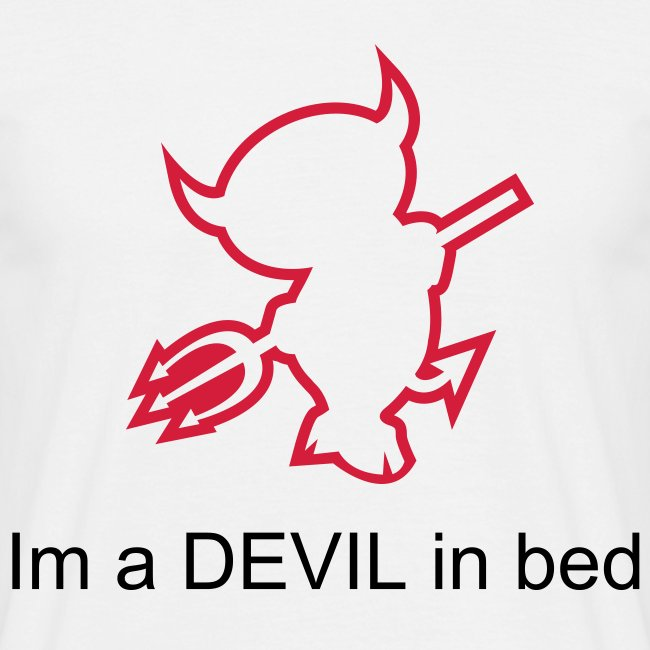 im a devil in bed